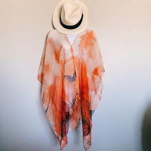 Other - ✨ NEW Bathing Suit Coverup Orange Beachwear
